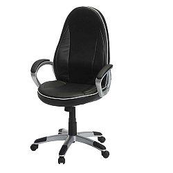 Speedy 4 fekete-fehér irodai szék - Furnhouse