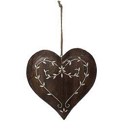 Spring Time szív alakú függődísz - Antic Line