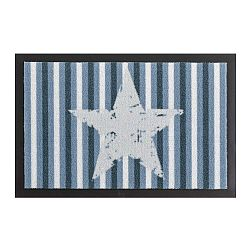 Star Stripes Blue lábtörlő, 40 x 60 cm - Hanse Home