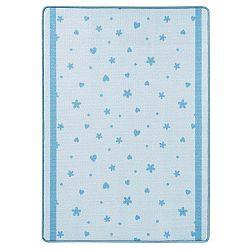 Stars&Hearts kék gyerekszőnyeg, 100 x 140 cm - Zala Living