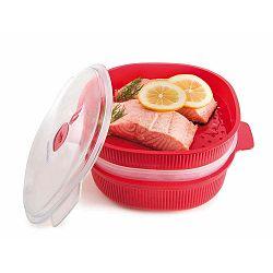 Steamer edény szett mikrohullámú sütőbe, 4l - Snips