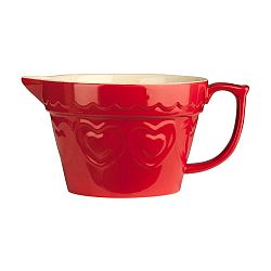 Sweet Heart piros tál, 1,7l - Premier Housewares