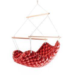 Swingy In piros beltéri függőszék - Linda Vrňáková