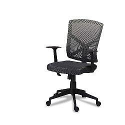 Swivel szürke irodai szék - Furnhouse