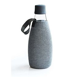 Szürke huzat ReTap üvegpalackra élettartam garanciával, 800 ml - ReTap