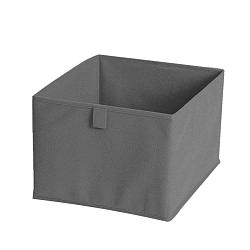 Szürke textil tárolódoboz, 30 x 30 cm - JOCCA