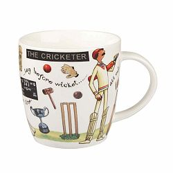 The Cricketer csontporcelán bögre, 400 ml - Churchill China