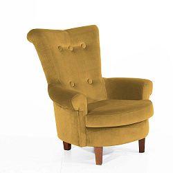 Tilly sárga fotel - Max Winzer