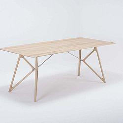 Tink tömör tölgyfa étkezőasztal, 200 x 90 cm - Gazzda
