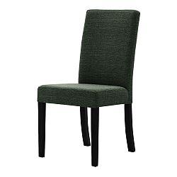 Tonka zöld bükk szék fekete lábakkal - Ted Lapidus Maison