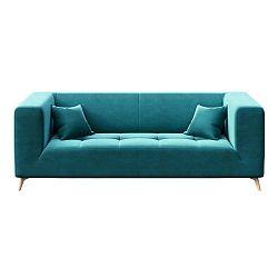 Toro háromszemélyes, türkizkék kanapé - MESONICA