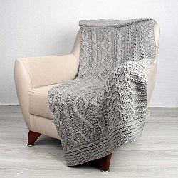 Totu szürke ágytakaró, 130 x 170 cm