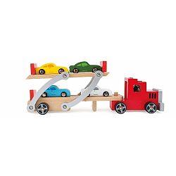 Transporter fából készült játék kamion - Legler