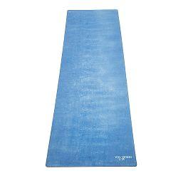 Travel Aegean kék jógaszőnyeg, 900g - Yoga Design Lab
