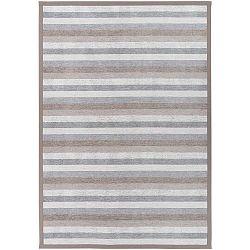 Treski Linen szürke kétoldalas szőnyeg, 100 x 160 cm - Narma