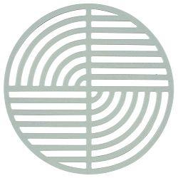 Trudo világoszöld szilikon edényalátét - Zone