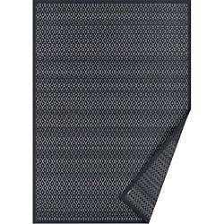 Tsirgu sötét szürke, mintás kétoldalas szőnyeg, 140 x 70 cm - Narma