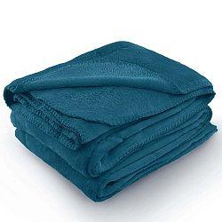 Tyler indigókék mikroszálas takaró, 170 x 200 cm - AmeliaHome