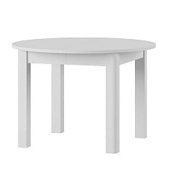 Uran fehér bővíthető étkezőasztal - Szynaka Meble
