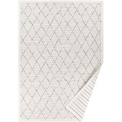 Vao fehér, mintás kétoldalas szőnyeg, 70 x 140 cm - Narma