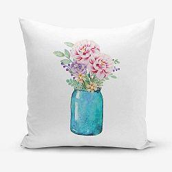 Vazo pamutkeverék párnahuzat, 45 x 45 cm - Minimalist Cushion Covers