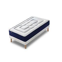 Velours egyszemélyes ágy matraccal, 80 x 190 cm - Bobochic Paris