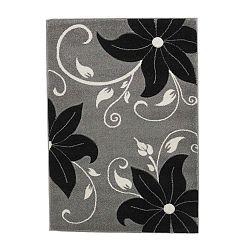 Verona feketésszürke szőnyeg, 120 x 170 cm - Think Rugs