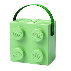 Világoszöld tároló doboz fogantyúval - LEGO®