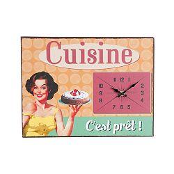 Vintage Cuisine falióra, 32 x 24 cm - Antic Line
