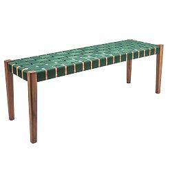 Weave zöld akácfa pad, nejlon huzattal - Karlsson