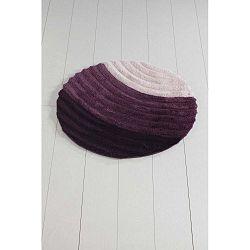 Well Cap lila fürdőszobaszőnyeg, ⌀ 90 cm