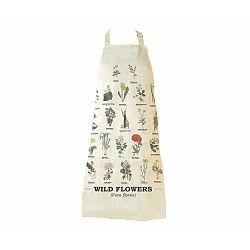 Wild Flowers pamut kötény - Gift Republic