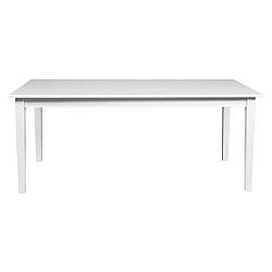 Wittskar fehér étkezőasztal tölgyfából, 180 x 90 cm - Folke