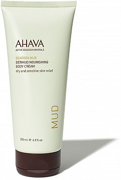 AHAVA Dead Sea Mud Dermud Nourishing Body Cream 200 ml
