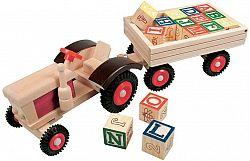 Bino Traktor gumi kerekek és iparvágány
