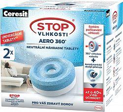 CERESIT stop nedvesség Aero 360 csere tabletta 2in1 2 x 450 g