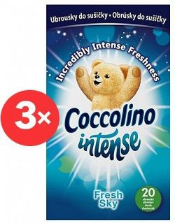 COCCOLINO Intense Fresh Sky  3 × 20 db