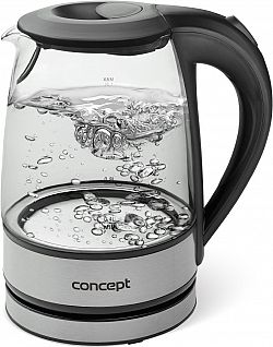 Concept RK-4900 üveg és rozsdamentes acél 1,2 l