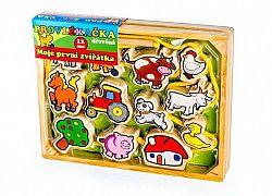 Fa játék - Az első állataim 12 db-os