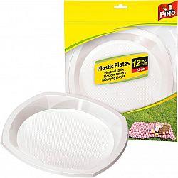 FINO műanyag tányér 12 db