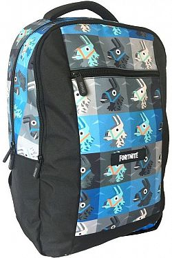 Fortnite Backpack, kék-fekete