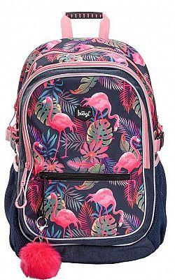 Iskolatáska Flamingó