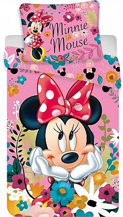 Jerry Fabrics ágynemű - Minnie Blossoms