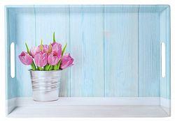 Kesper Tálalótálca tulipán motívummal 50 x 35 cm
