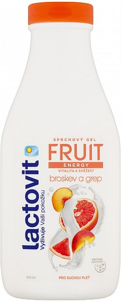 LACTOVIT Fruit Őszibarack és grapefruit 500 ml