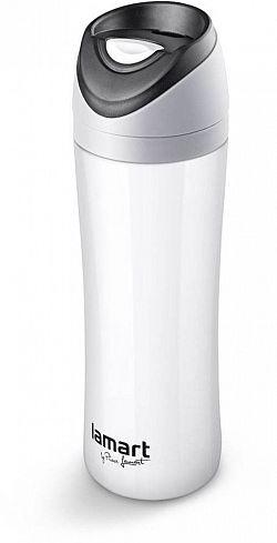 LAMART termosz 0,45 liter fehér Esprit LT4016