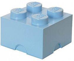 LEGO tároló doboz 4 250 x 250 x 180 mm - világoskék