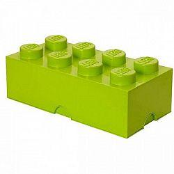 LEGO tároló doboz 8250 x 500 x 180 mm - lime zöld