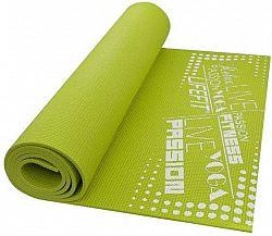 Lifefit Slimfit Plus gimnasztikai szőnyeg, könnyű, zöld