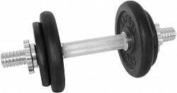 LifeFit súlyzó 9 kg, 4x tárcsa